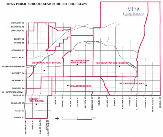 mesa-map